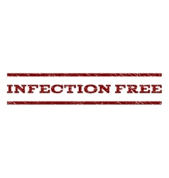Infection Free Watermark Stamp vector