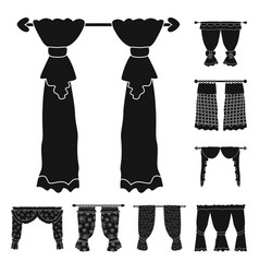 Isolated object garter and blinds logo vector