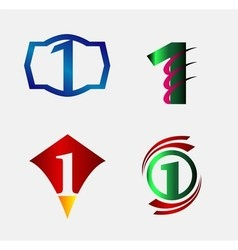 Set of Decorative Letter z - Icons Logo and Elemen vector