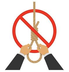 stop suicide eps vector image