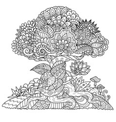 Tree 5 vector