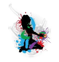 a music DJ vector image vector image