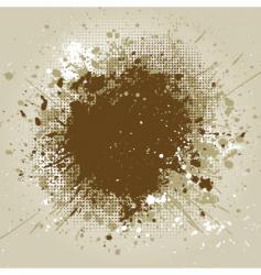 grunge splat vector image vector image