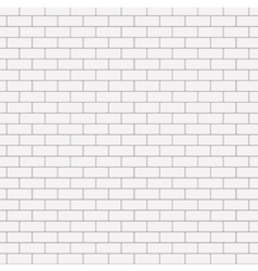 modern seamless white brick background vector image