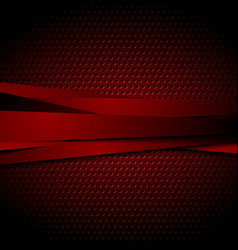 dark red abstract striped background vector image vector image