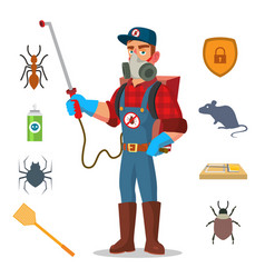 pest control prevention from infection vector image