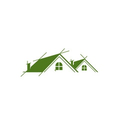 Roofing-380x400 vector image vector image