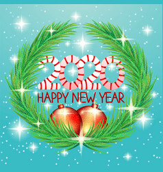 2020 happy new year greetings vector image