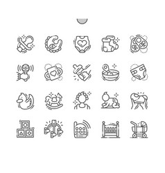 Bawell-crafted pixel perfect icons vector