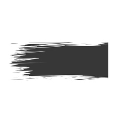 Black abstract line Paint design graphic vector