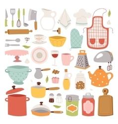Kitchenware icons vector