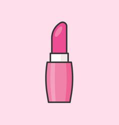 Pink lipsticks vector