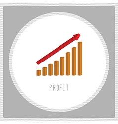 Profit chart5 vector