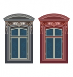 Windows in frames vector