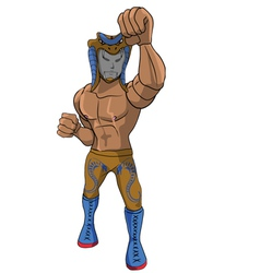 wrestler Cobra vector image