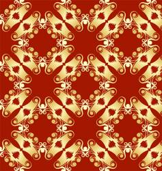 abstract pagoda pattern vector image vector image