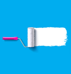 brush roller brush vector image