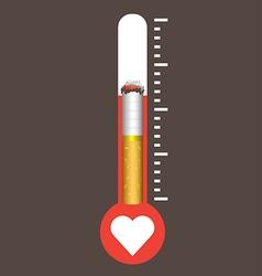 World No Tobacco Day concept vector image vector image