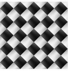 Abstract seamless geometrical monochrome ring vector