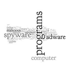 Anti spyware adware vector