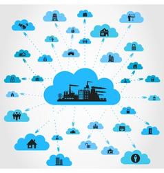 House a cloud vector