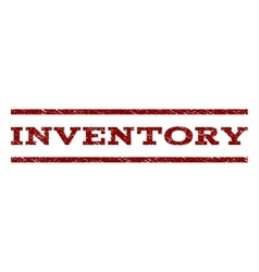 Inventory Watermark Stamp vector