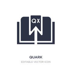 Quark icon on white background simple element vector