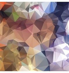 Triangular geometric shapes vector image