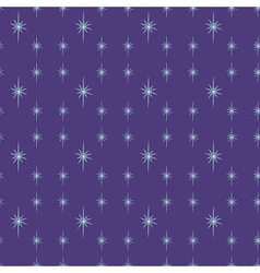 Shiny star night vector image