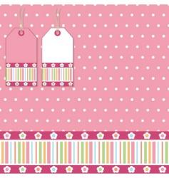 polka wrapping vector image