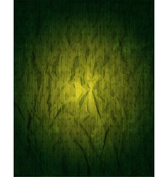 Vintage grungy green background vector image
