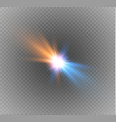 collision of two forces vector image