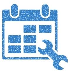 Configure Timetable Grainy Texture Icon vector