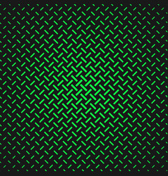 Green simple halftone line pattern background vector