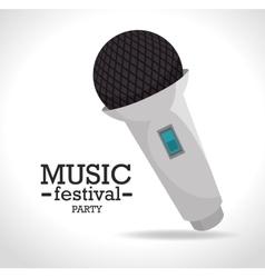 Music festival design vector