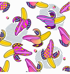 summer party poster pattern seamless geometric vector image