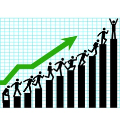 business up vector image vector image