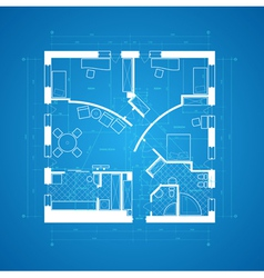 Blueprint abstract vector image