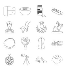education medicine fashion and other web icon in vector image vector image
