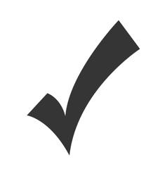 Check mark confirm sign icon graphic vector