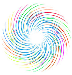 Colourful swirl vector
