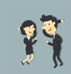 Couple business vector