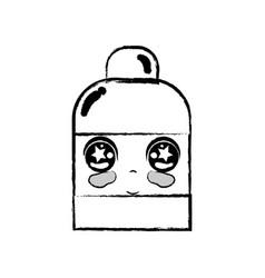 Figure kawaii cute tender ointment pharmaceutical vector