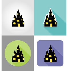 Halloween flat icons 05 vector