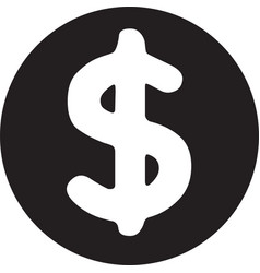 money icon money symbol money dollar vector image
