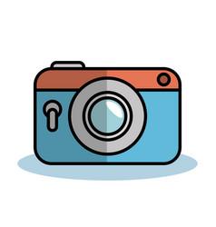 Vintage camera design vector