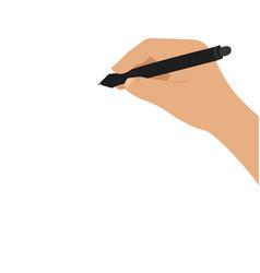 writing on the blackboard vector image