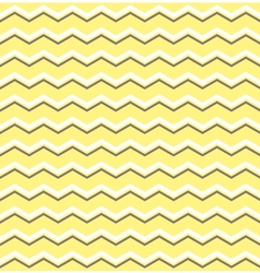 Tile pattern with white and brown zig zag print vector image vector image