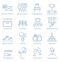 Event management - 2 vector
