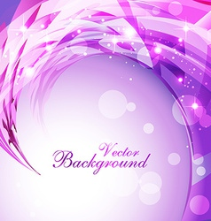 shiny background vector image vector image